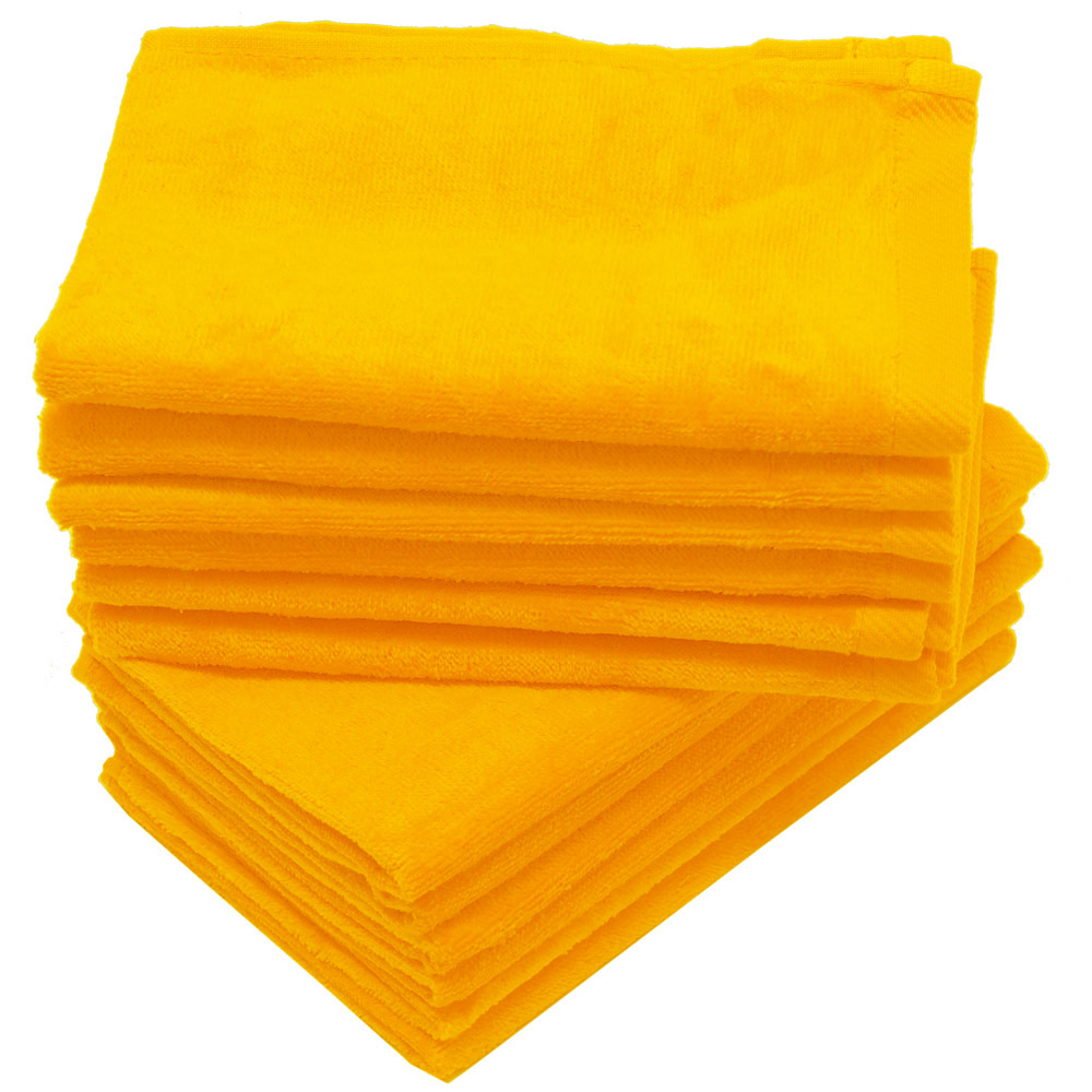 16x26 Gold Terry Velour Hand Towel