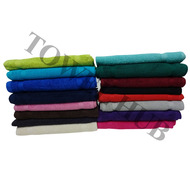 13x13 - COLOR WASHCLOTHS Premium Plus 100% Ring Spun Cotton