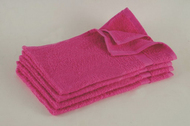 15x25 - HOT PINK Hand Towel Standard Premium 100% Cotton